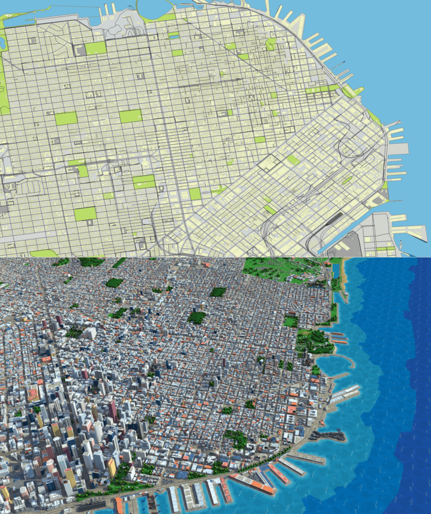 San Francisco 3D Map